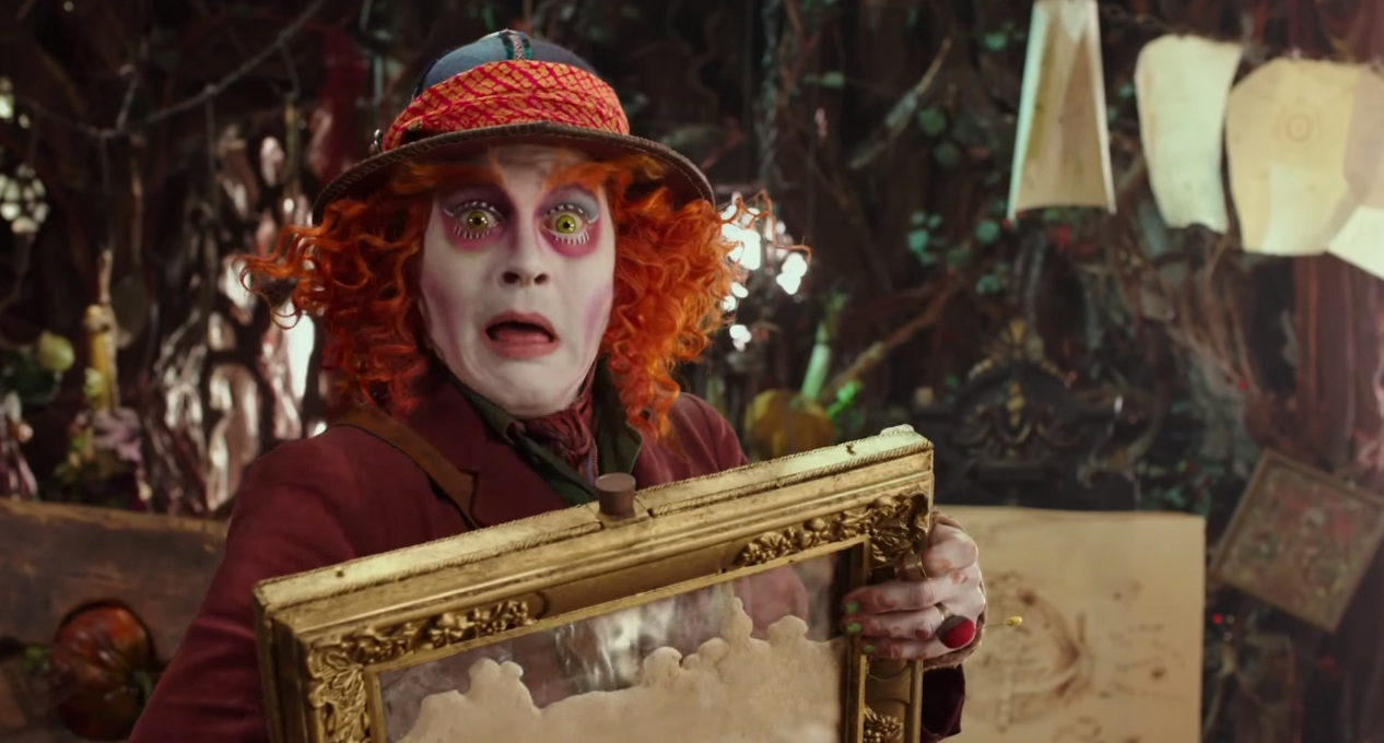 Alice attraverso lo specchio dal 25 maggio al cinema - Film alice attraverso lo specchio ...