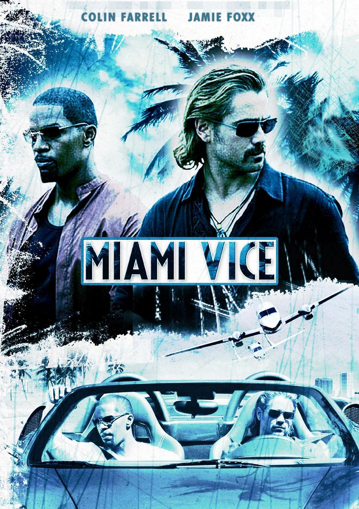 Miami Vice, Locandina originale