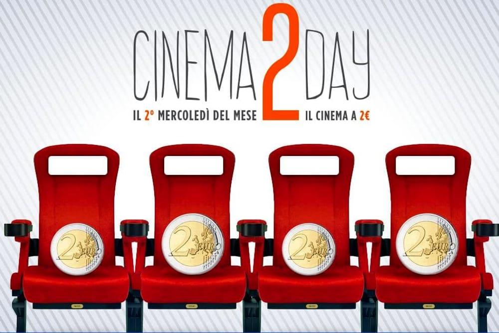 CINEMA DAY – Al cinema con soli 2€ ogni secondo mercoledì del mese!