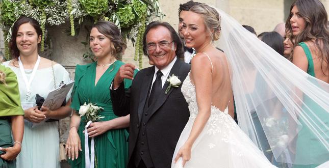Cristel Carrisi sposa
