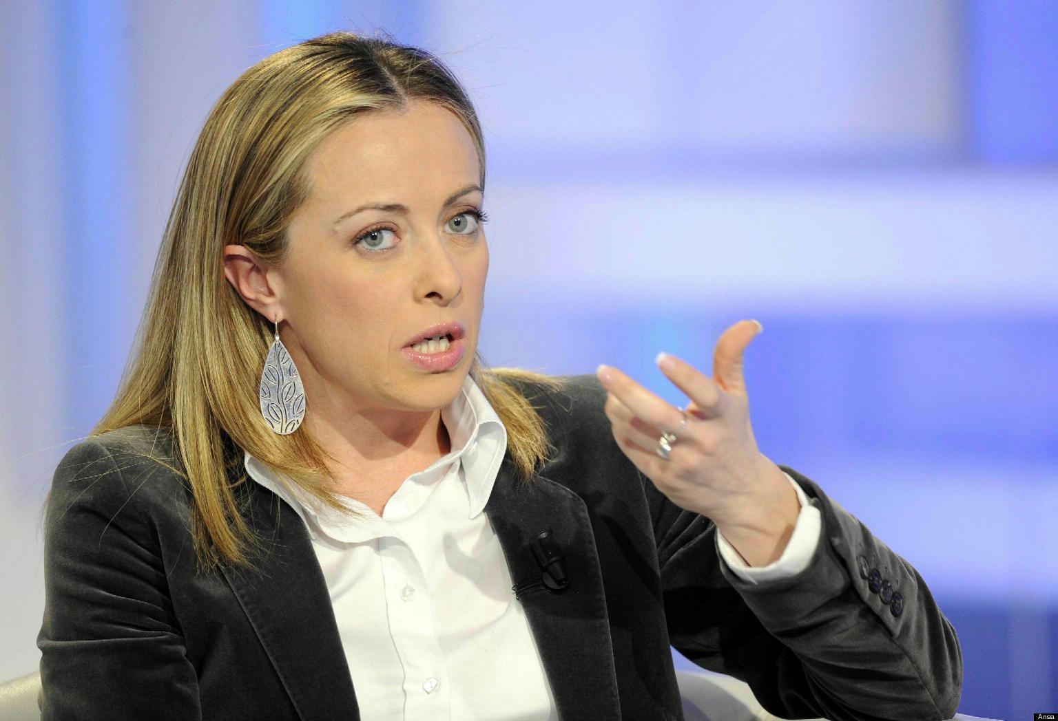 """Giorgia Meloni sulla fiction tv """"Lampedusa"""": """"è un'opera degna della propaganda sovietica"""""""