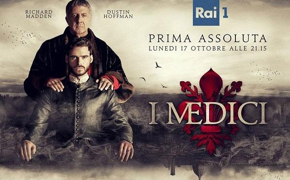 I Medici – fiction Rai Uno – quando inizia?