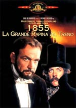 1855 - la prima grande rapina al treno - locandina