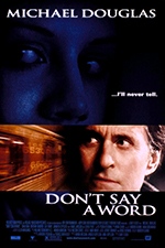 Don't say a word - Locandina