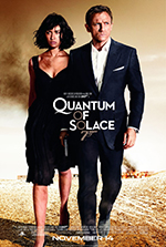 Quantum of Solace - Locandina