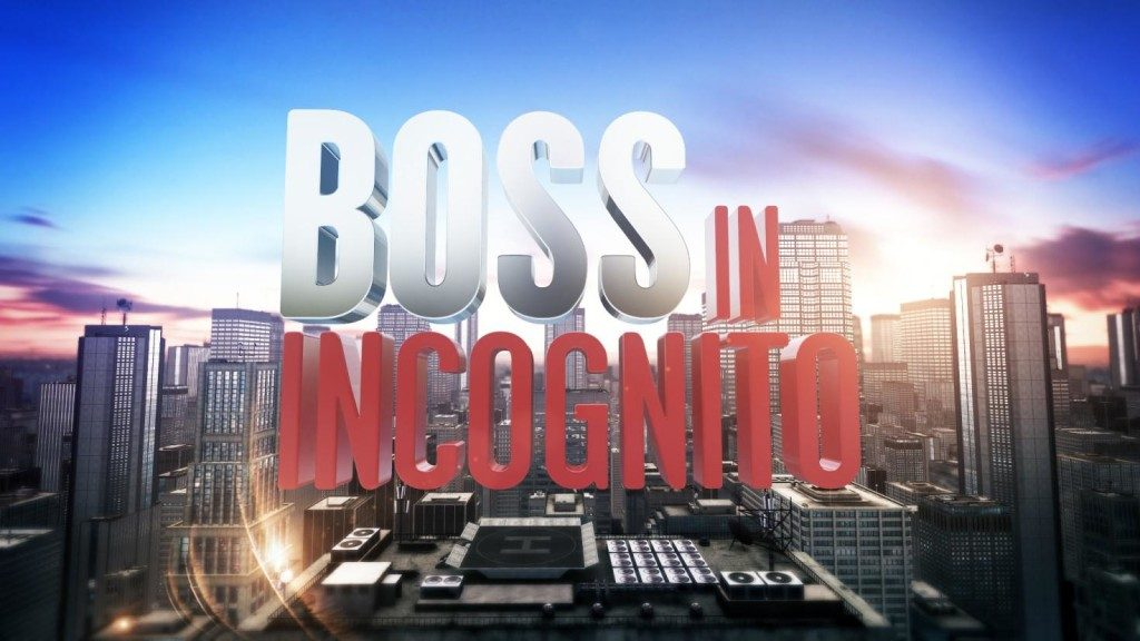 Boss in Incognito 5 |  dal 4 genanio su Rai 2