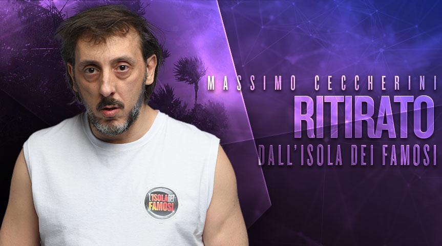 Massimo Ceccherini Isola dei Famosi