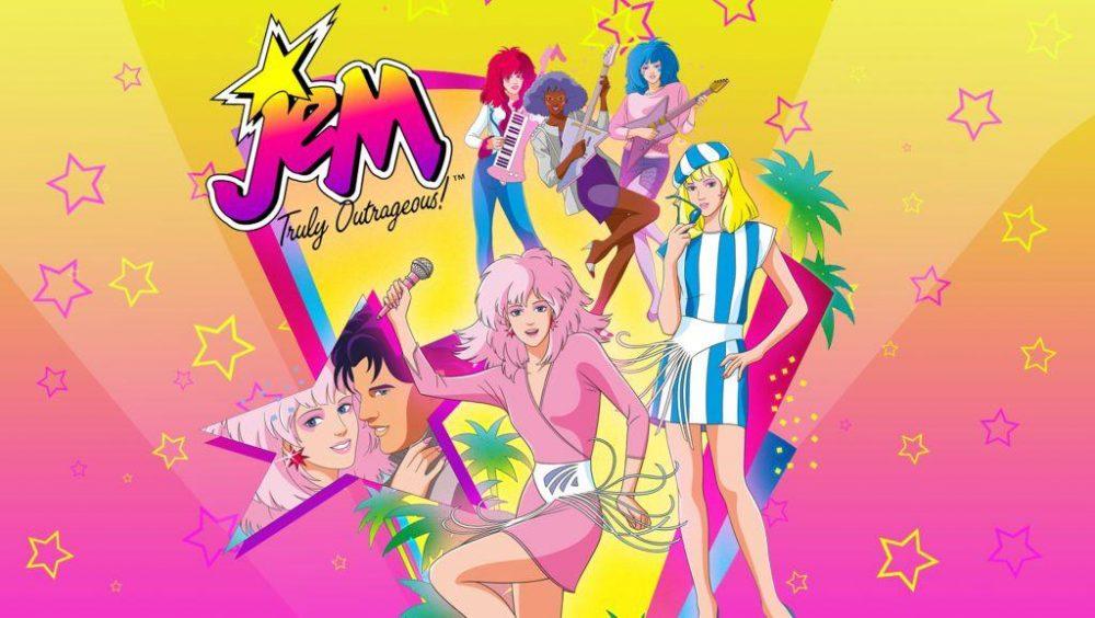 Jem e le holograms la serie animata anni sbarcava
