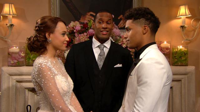 Zende e Nicole matrimonio