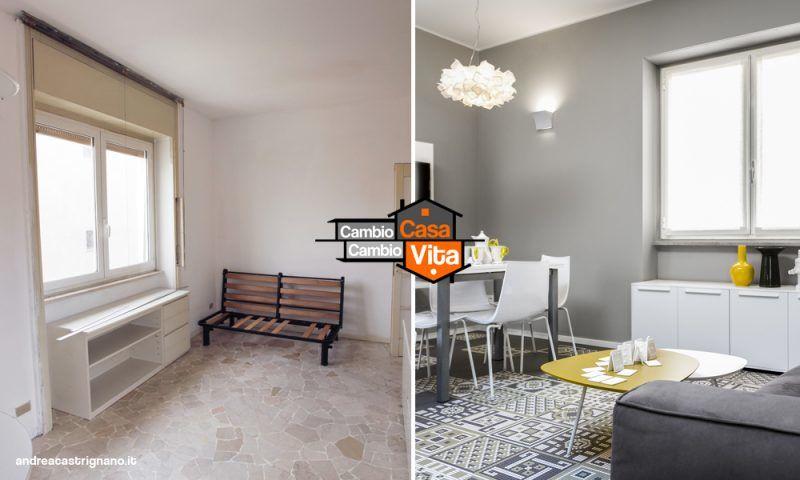 Cambio casa cambio vita su la5 andrea castrignano ti rif la casa super guida tv - Cambio vita cambio casa 2017 ...