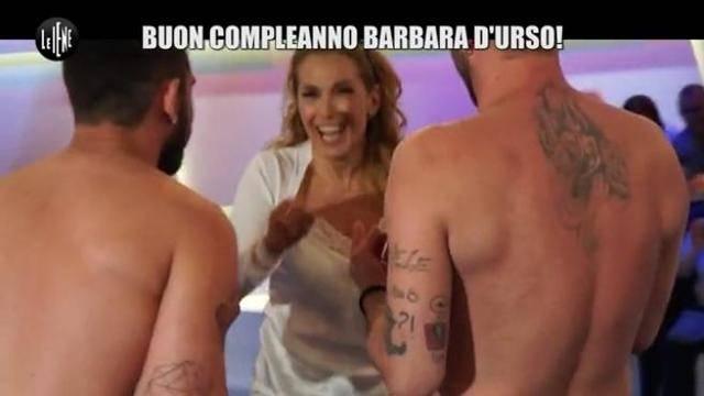 Barbara D'Urso regalo iene