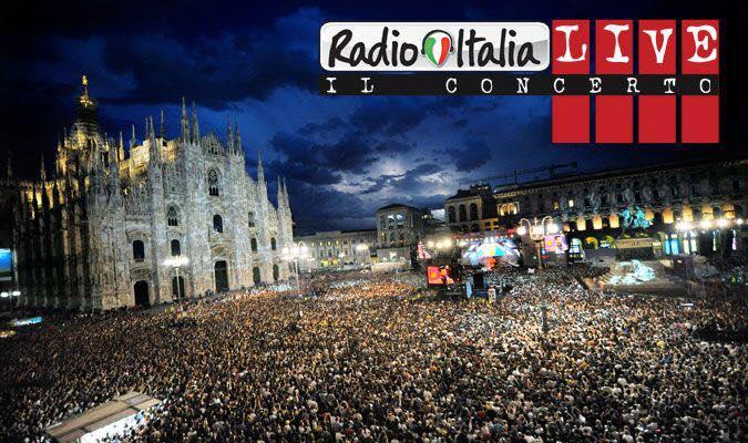 Radio Italia Live, concerto da Palermo. Conducono Luca Bizzarri e Paolo Kessisoglu