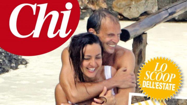 Ambra Angiolini e Allegri, la coppia dell'estate: weekend di passione al mare