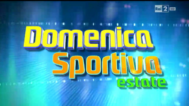 domenica sportiva estate
