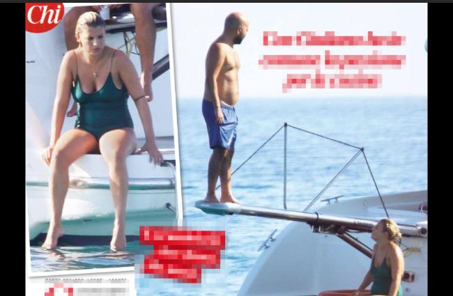 Emma Marrone in Puglia con Giuliano Sangiorgi e il pancino sospetto