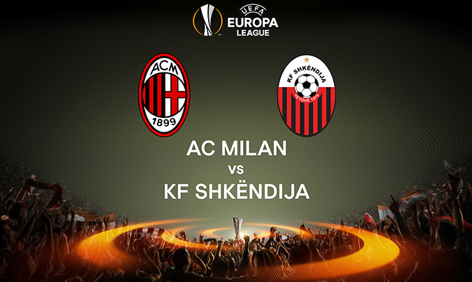 Europa League 17 agosto: dove seguire Milan  Shkëndija in tv