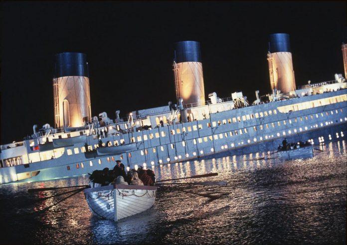 titanic film stasera in tv