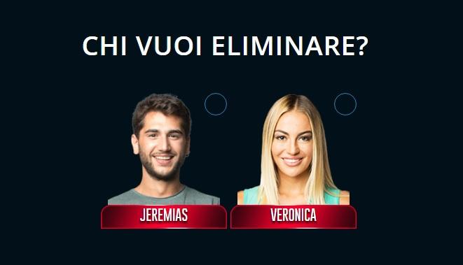 Grande Fratello VIP 2017: nominati Jeremias Rodriguez e Veronica Angeloni