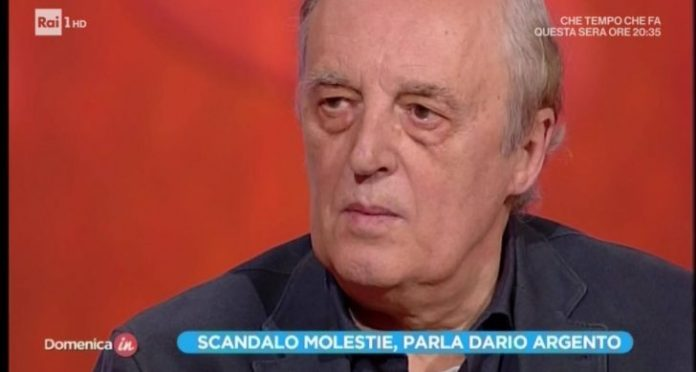 Dario Argento rai molestie asia