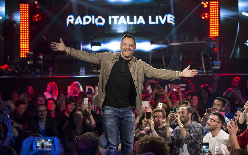 Radio Italia Live riparte con Tiziano Ferro su Real Time