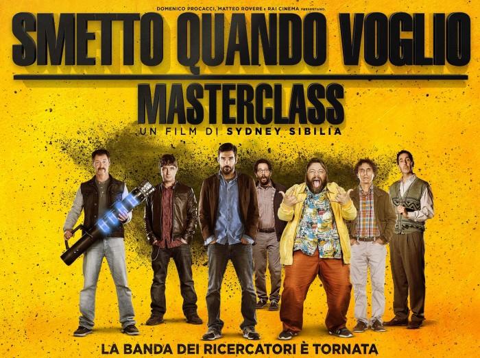 Film da vedere oggi, 23 novembre: Smetto quando voglio – Masterclass o Whiplash?