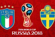 italia svezia russia 2018 stasera in tv