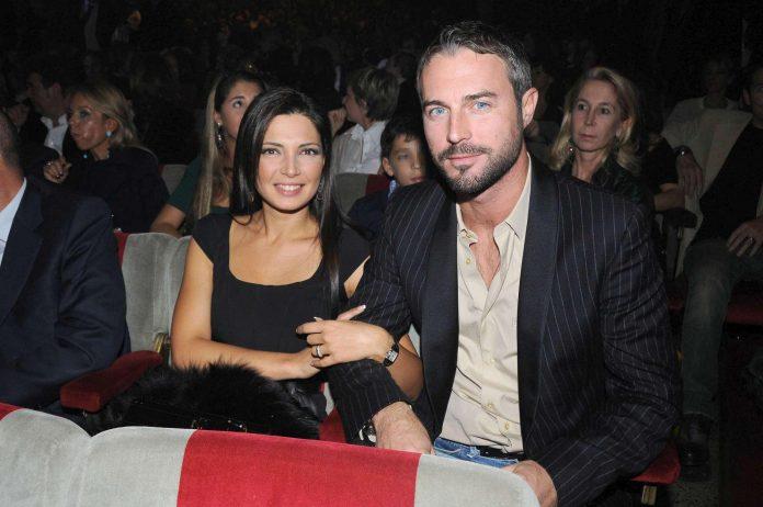 Alessia Mancini con suo marito Flavio Montrucchio