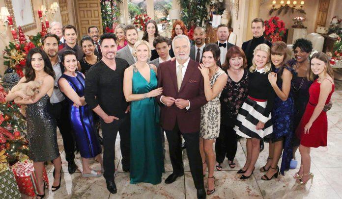 Beautiful - Cast in occasione di Natale