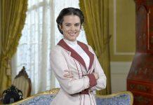 L'attrice Cristina Abad nella soap Una Vita