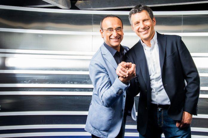 Carlo Conti e Fabrizio Frizzi insieme