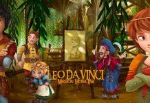 Film di animazione Leo Da Vinci. missione monnalisa