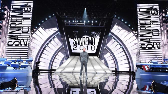 Sanremo 2018, le scenografie della nuova edizione
