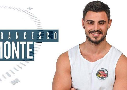 Francesco Monte all'isola dei famosi
