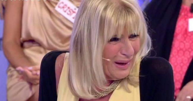 Gemma galgani piange