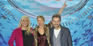 Conferenza stampa isola dei famosi, Marcuzzi, Venier e Bossari