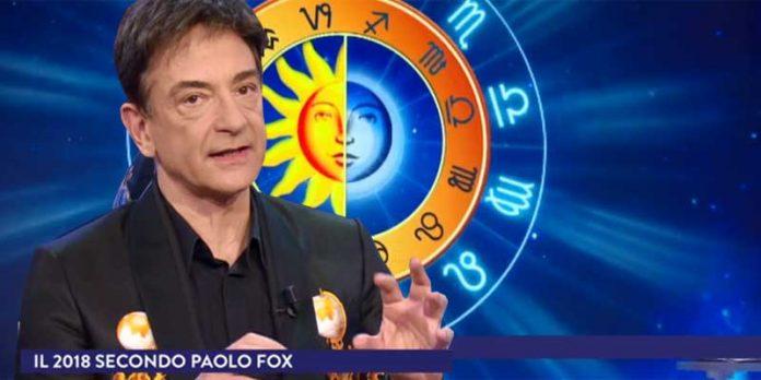 L'astrologo Paolo Fox nel suo Oroscopo 2018