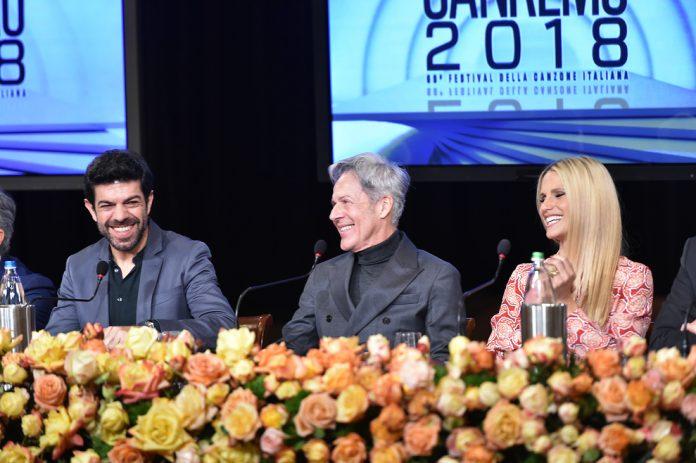 Conferenza stampa Festival di Sanremo 2018