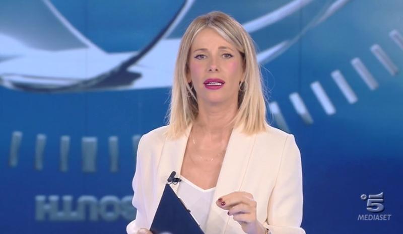 Alessia Marcuzzi e i filmati audio di Striscia la Notizia: q