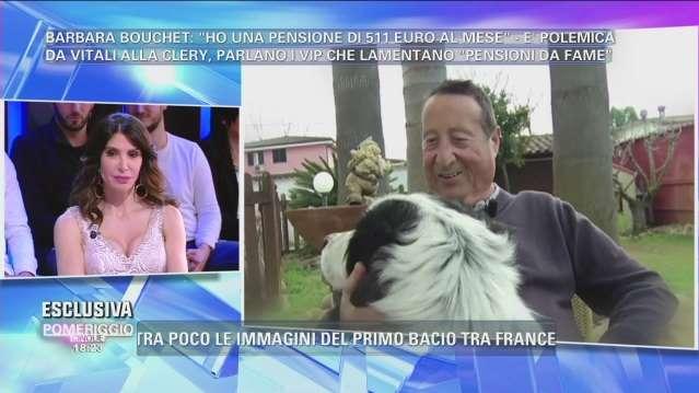 Alvaro Vitali a Pomeriggio 5 su Canale 5