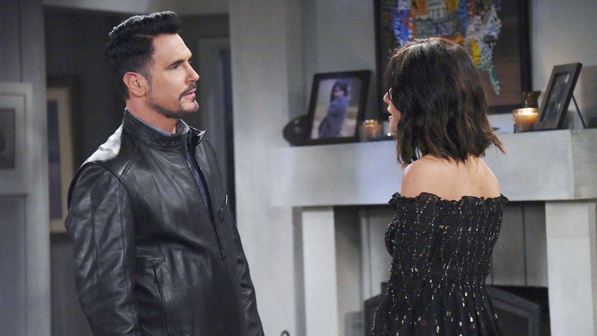 Beautiful - Bill Spencer minaccia Katie e chiede a Steffy di sposarlo