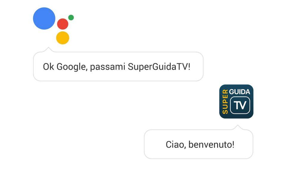Da oggi potete parlare con SuperGuidaTV grazie all'assistent