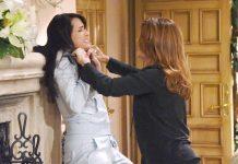 Beautiful - Quinn e Sheila vengono alle mani