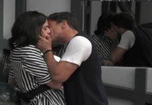 grande fratello 15 - primo bacio