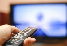 televisione tv telecomando