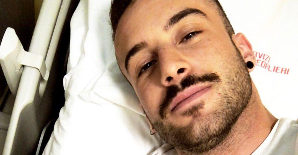 Andreas Muller ricoverato in ospedale, paura per il ballerin