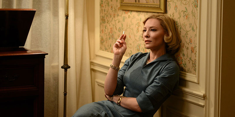 Il film da vedere oggi, giovedì 21 giugno: Carol [PRIMA TV]