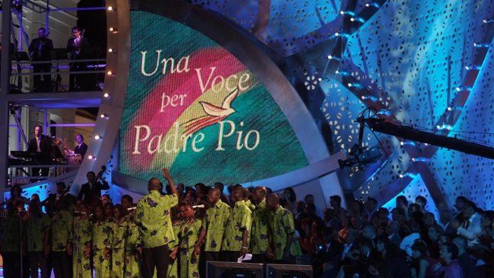 Una voce per Padre Pio 2018