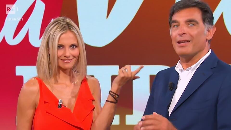 La vita in diretta, Tiberio Timperi e Francesca Fialdini sme