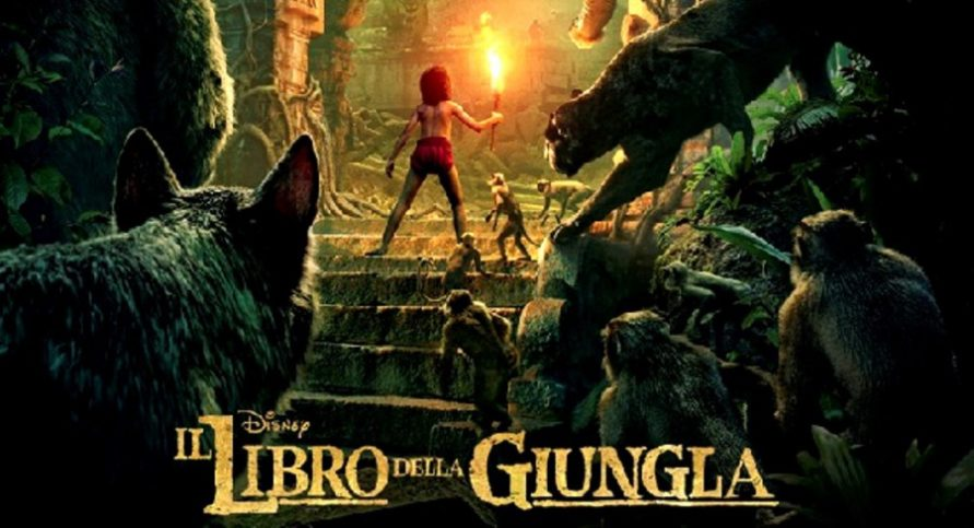 Il libro della giungla su canale film di jon favreau