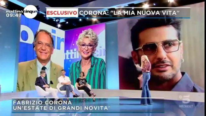 Mattino 5 - Fabrizio Corona